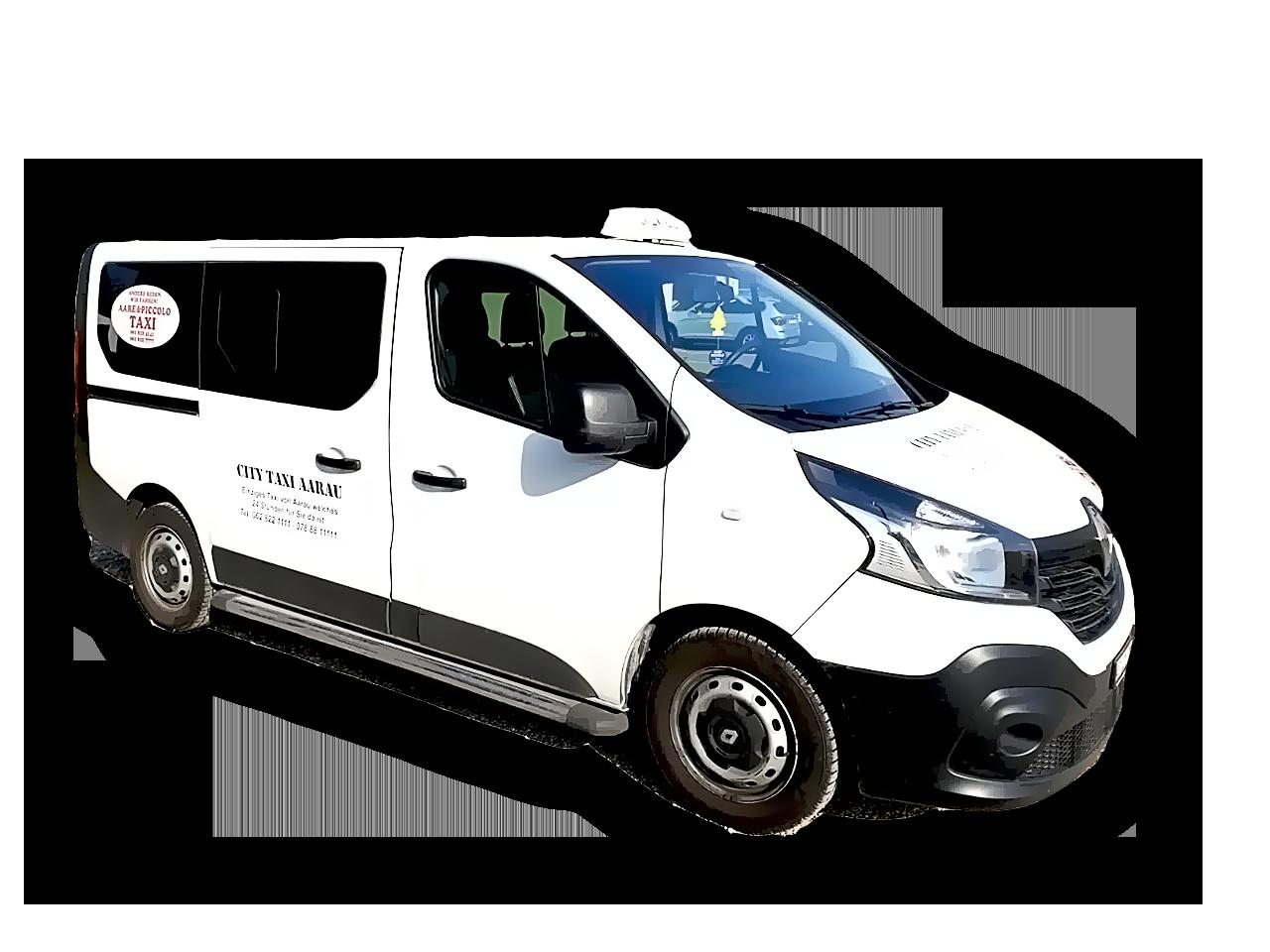 taxi-renault-van
